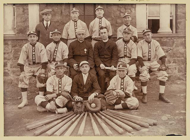 Baseball team, Eymard Seminary, Suffern, N.Y.