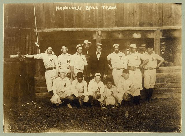 Honolulu ball team