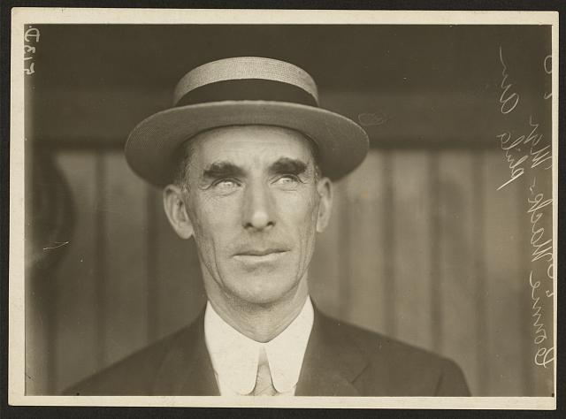 Connie Mack, mgr., Phila. Am.
