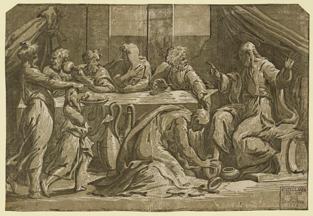 Christ at the table of Simon the Pharisee
