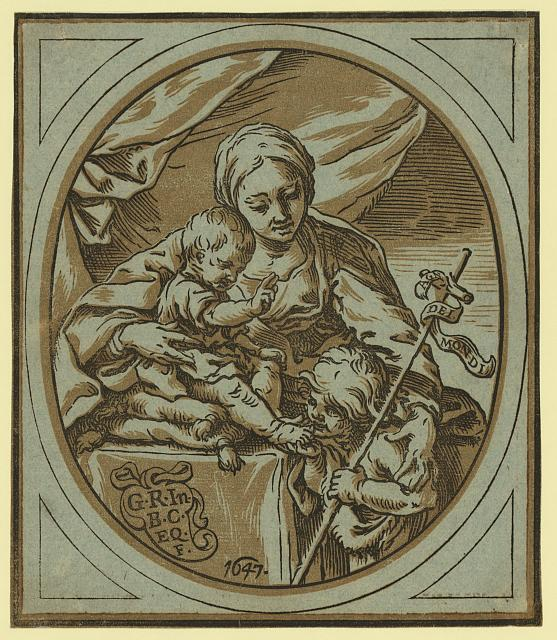 The Virgin, Child, and St. John the Baptist