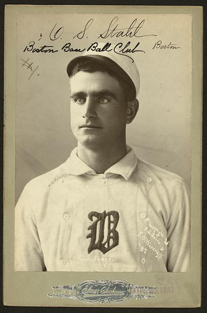 C.S. Stahl - Boston base ball club