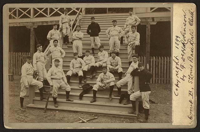 St. Louis base ball club, group B