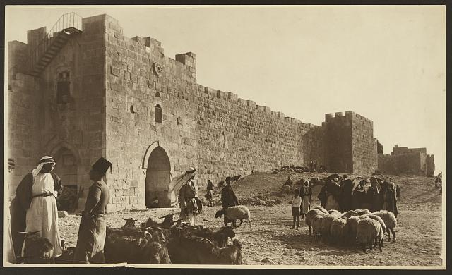 [Sheep market outside Herod's Gate]