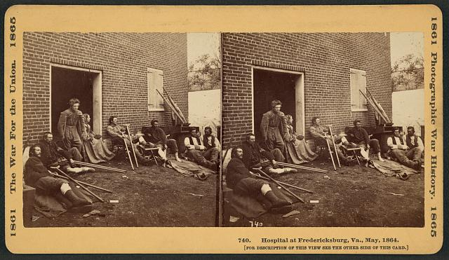 Hospital at Fredericksburg, Va., May 1864