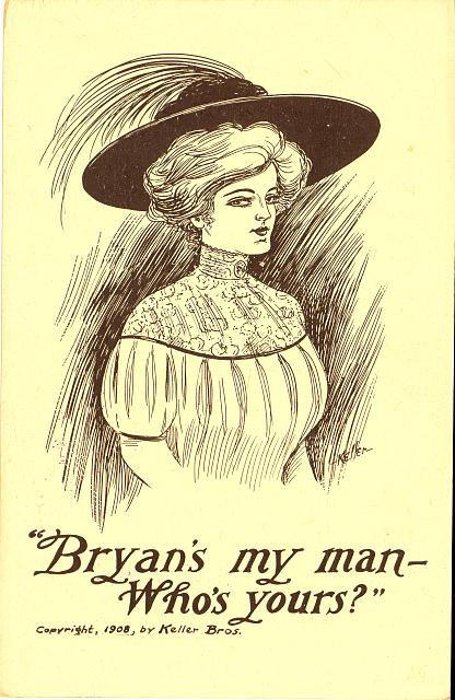 """Bryan's my man--Who's yours?"""