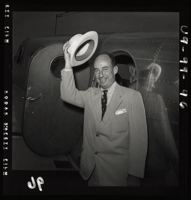 [Presidential nominee Adlai Stevenson at the Democratic National Convention, Chicago, IL, July 1952]