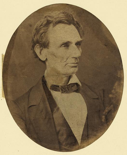 [Abraham Lincoln, candidate for U.S. president. Head-and-shoulders portrait, facing right, June 3, 1860]