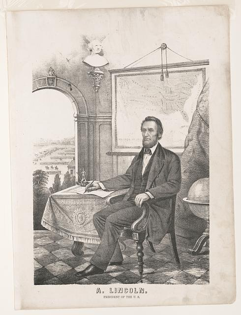 A. Lincoln, President of the U.S.