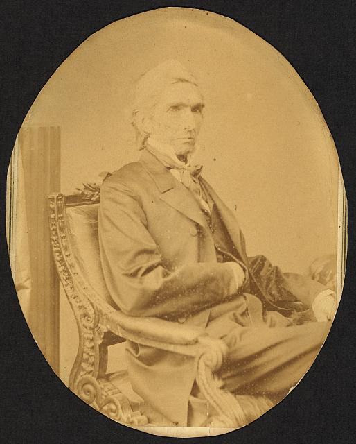 [Daniel Haymond Polsley, former Republican congressman from West Virginia, half-length portrait, seated, facing right]