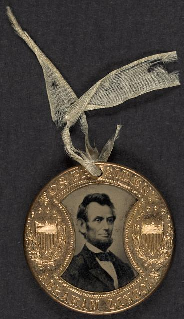 For president Abraham Lincoln -- For vice president Andrew Johnson