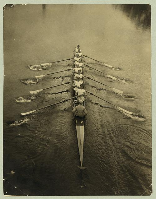 Sports - Rowing. Cambridge Crew