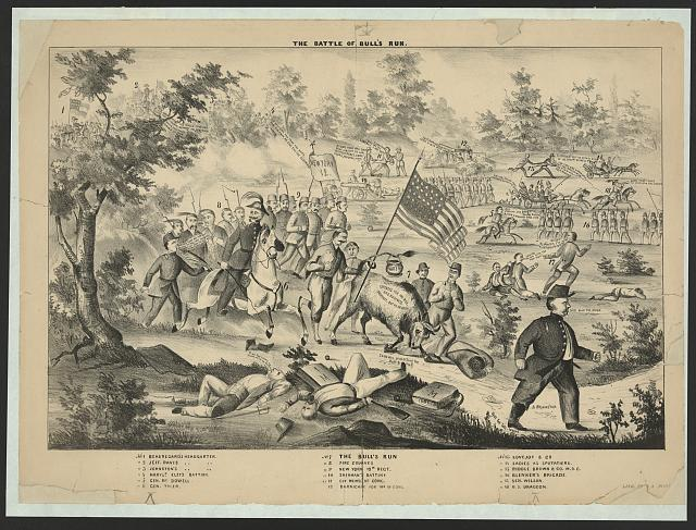 The Battle of Bull's Run