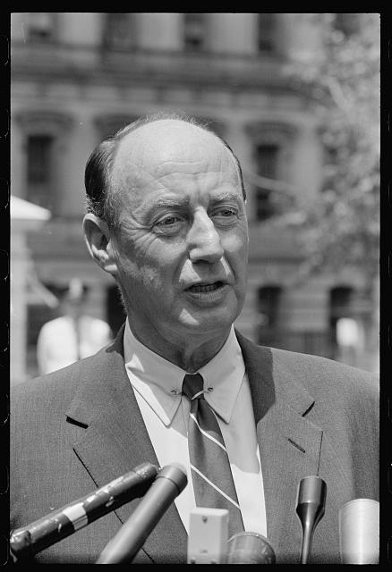 White House: head shots of Amb. Adlai Stevenson
