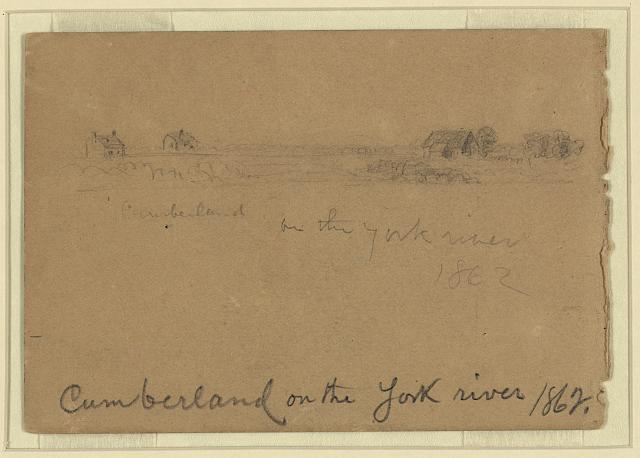 Cumberland on the York river 1862