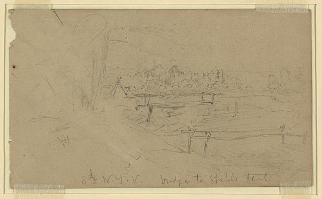 [Encampment of 8th New York Volunteers]