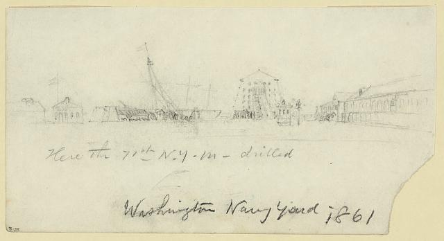 Washington Navy Yard, 1861