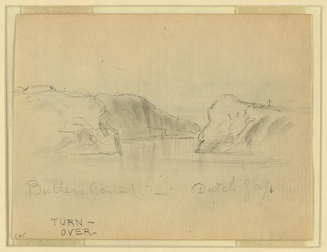 Butlers Canal, Dutch Gap