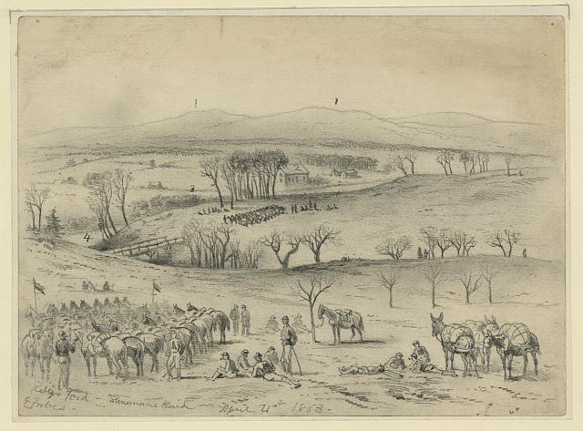 Kelly's Ford - Stonemans raid, April 21st 1863
