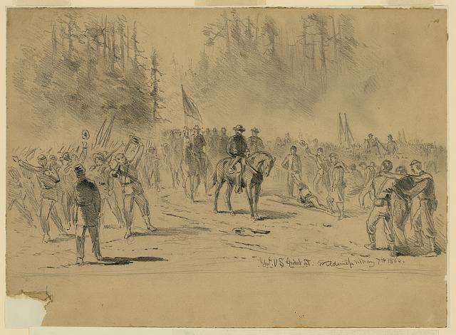 Genl. U.S. Grant at Wilderness