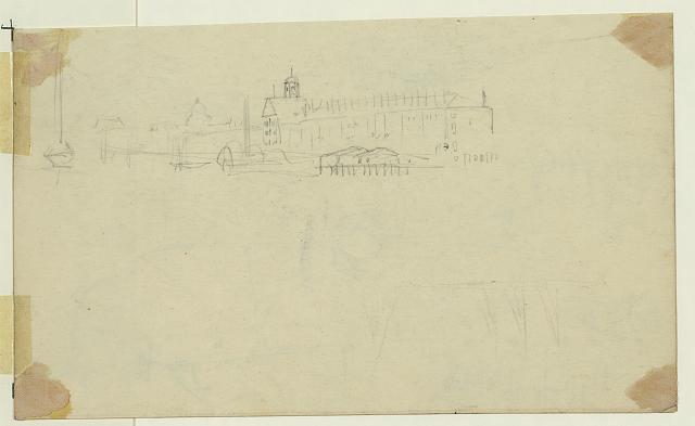 [Unidentified city view, capitol done in distance]
