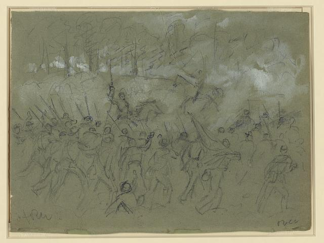 [The charge of the 8th Vermont at the Battle of Winchester]
