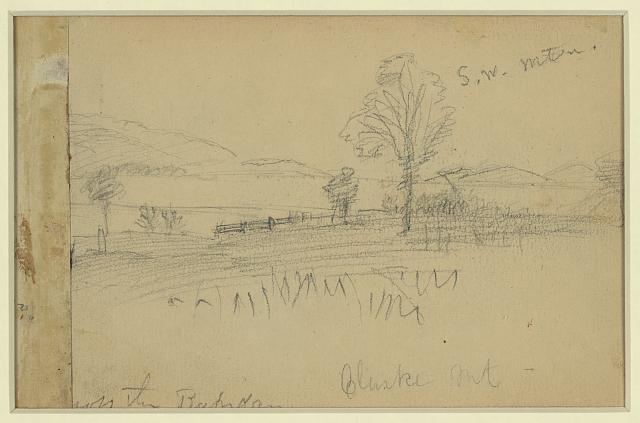 Williston's battery near Fredericksburg 1862