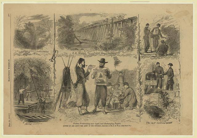 Scenes in and about the Army of the Potomac