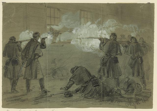 [Bloody fight at Occoquan, Va.]