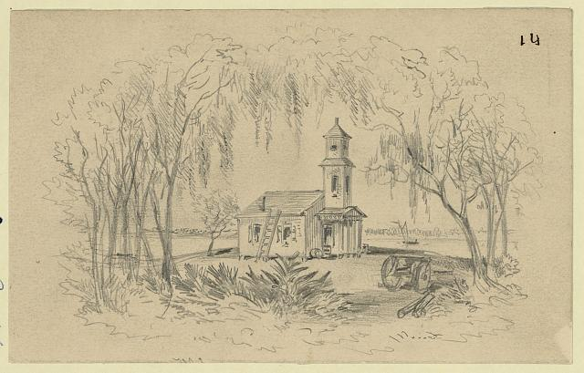 Negro Church, Smith&#39;s Plantation, Port Royal Isl&#39;d, S.C.