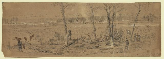 [Confederate works near Yorktown]
