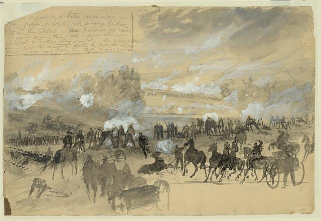 [Battle at White Oak Swamp Bridge]