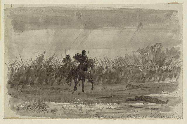 Kearney [sic] at Battle of Williamsburg