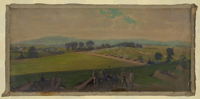 Last stand of the Army of Virginia, commanded by General Lee
