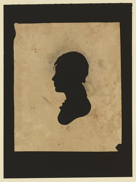 [Silhouette of unidentified boy facing left]