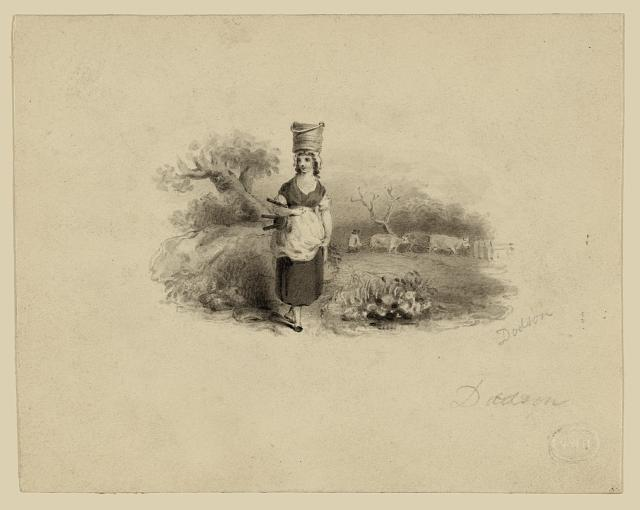 [Study for bank-note vignette: Agriculture, Commerce/Navigation, and Industry as little boys]
