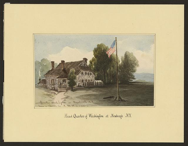 Head quarters of Washington at Newburgh N.Y.