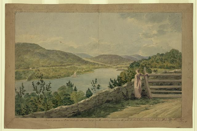 View of the Hudson near West Point