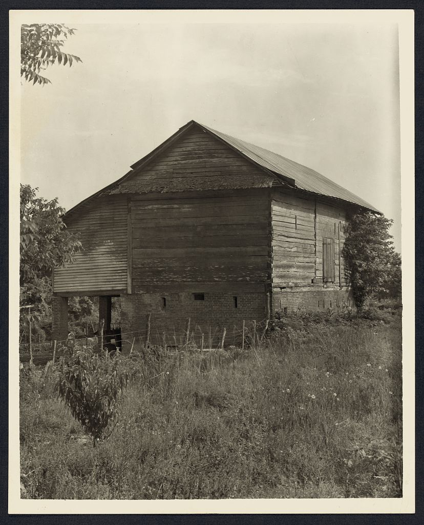 Unidentified Cabin, Natchez Vic., Adams County, Mississippi, Francis  Benjamin Johnston 1938