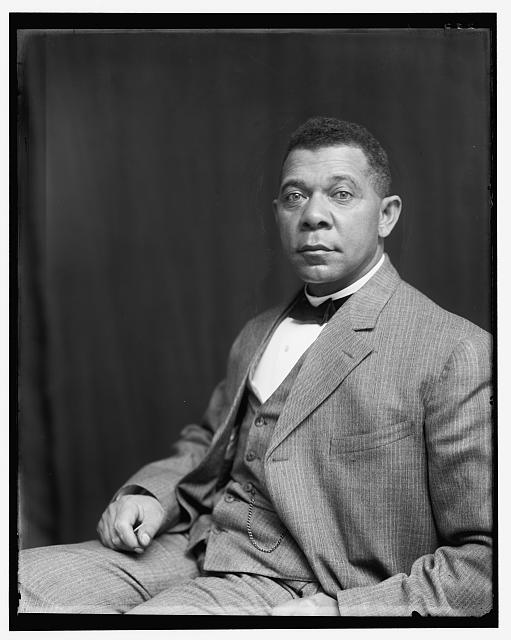 [Booker T. Washington, half-length portrait, seated]