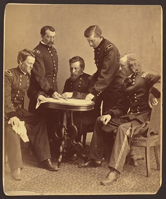 [Sheridan and his generals]