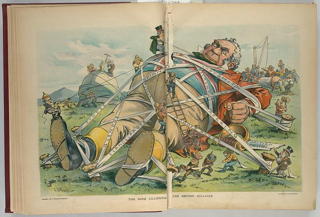 The Boer Lilliputia[n] - the British Gulliver