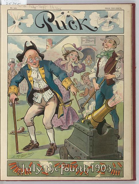 Puck July the fourth 1903