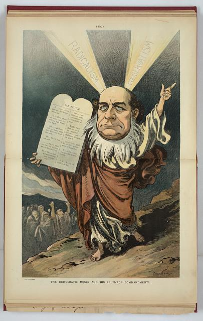 The Democratic Moses and his selfmade commandments