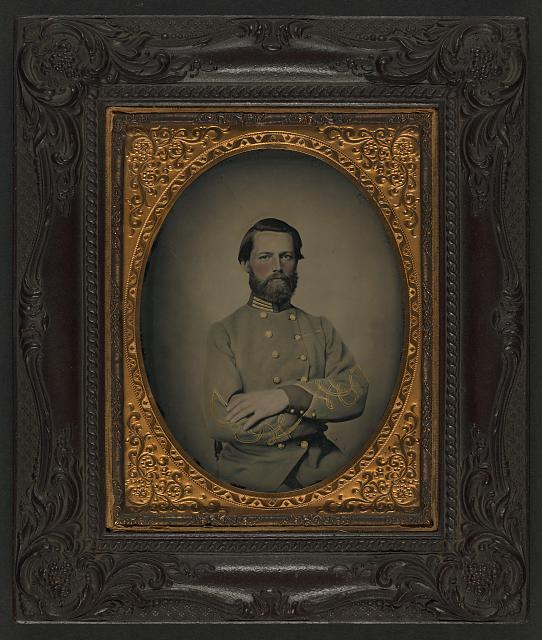 [Captain William W. Cosby of H Company, 2nd Virginia Light Artillery Regiment in uniform]