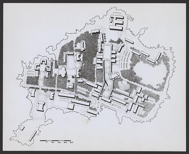 [Tuskegee Institute, Tuskegee, Alabama. Campus master plan]
