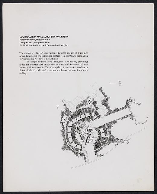 [Southeastern Massachusetts University (Southeastern Massachusetts Technological Institute), North Dartmouth, Massachusetts. Master plan]