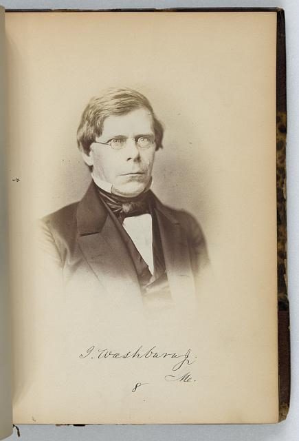 [Israel Washburn, jr., Representative from Maine, Thirty-fifth Congress, half-length portrait]