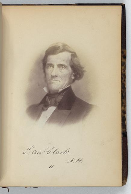 [Daniel Clark, Senator from New Hampshire, Thirty-fifth Congress, half-length portrait]
