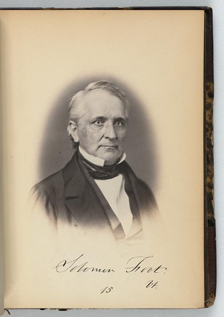 [Solomon Foot, Senator from Vermont, Thirty-fifth Congress, half-length portrait]